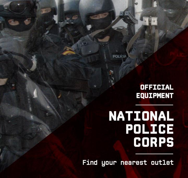 Guantes para policias